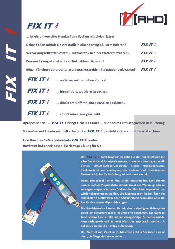 Fix IT Handaufladegerät Prospekt