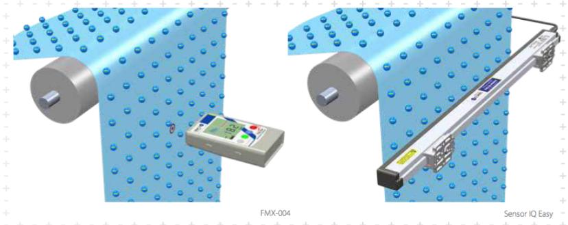 Elektrostatik richtig messen Produktion