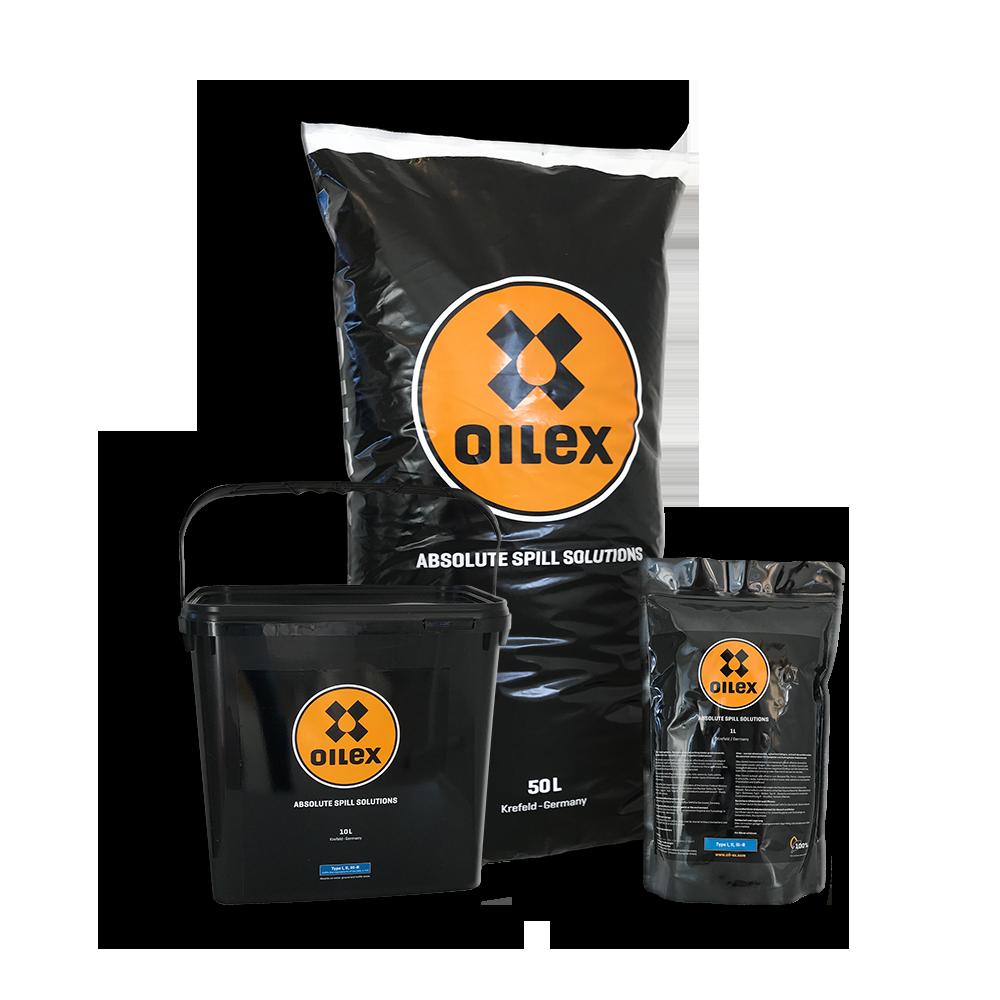 OILEX_Portfolio Absorptionsmittel Chemikalien Öl